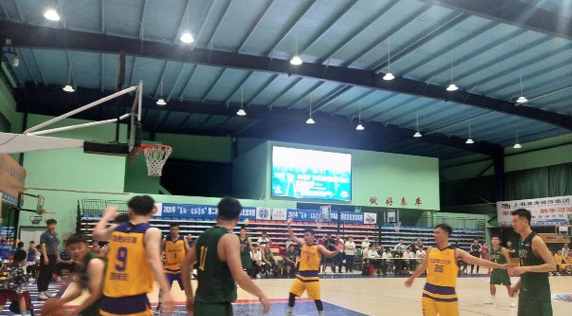 第二届海南全国高校校友篮球赛海口开打