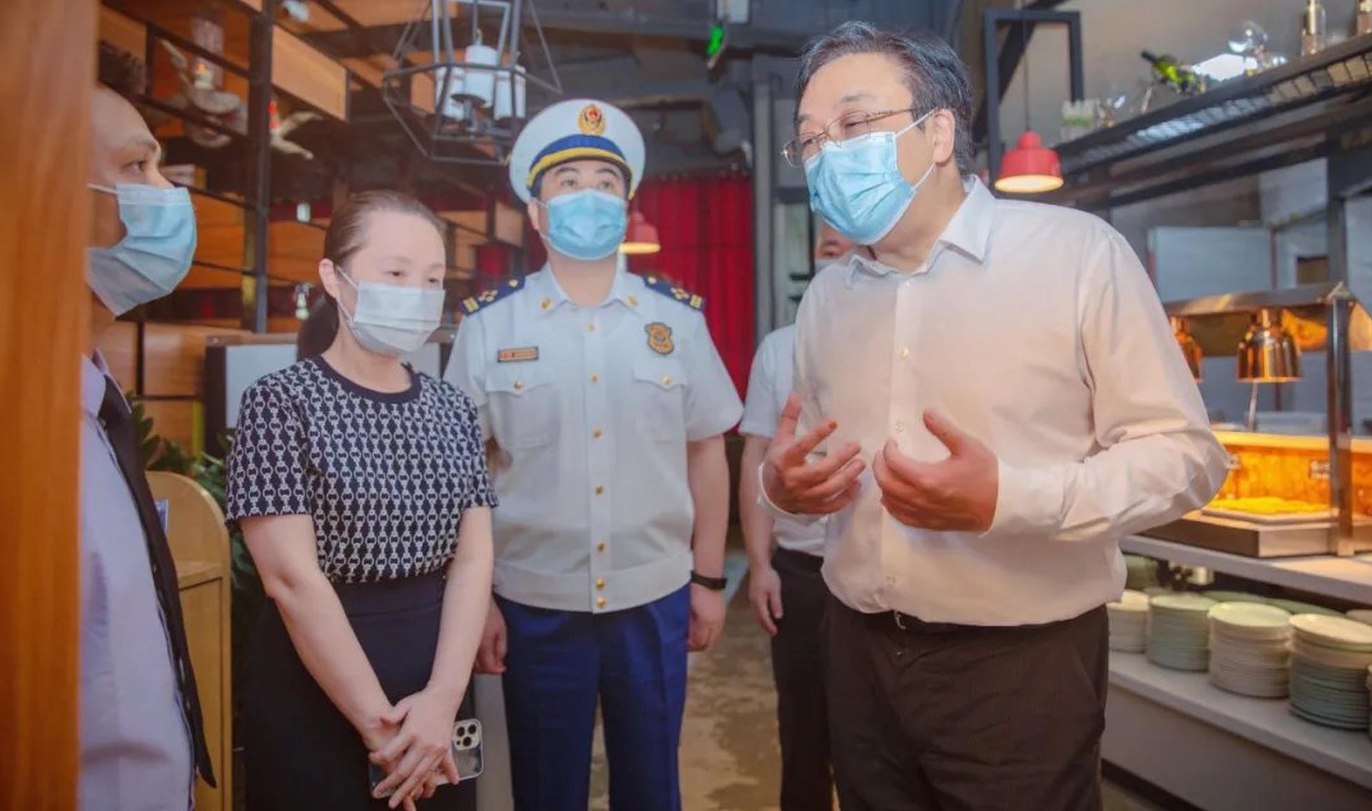 冯飞:全力以赴做好当前安全生产工作