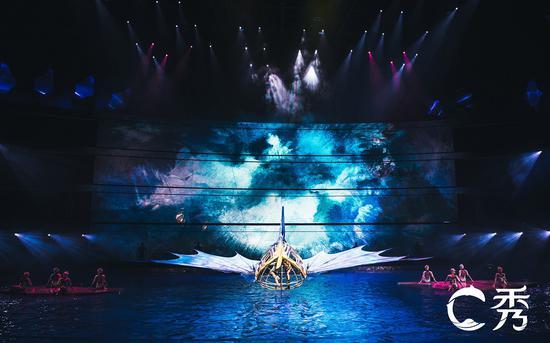 肩上芭蕾、冒险飞轮硬核上阵!C秀惊险升级震撼观众
