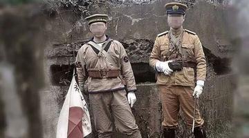 穿日军装摆拍 南京大屠杀纪念馆谴责