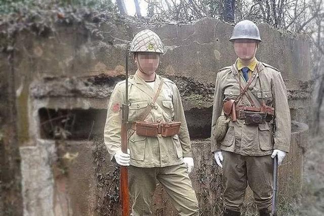 两人穿日军装摆拍 南京大屠杀遇难同胞纪念馆谴责