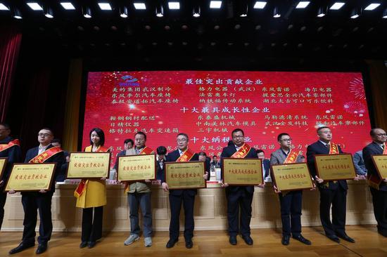 武汉开发区3600万重奖功勋企业及企业家