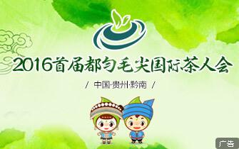 2016首届都匀毛尖茶国际茶人会
