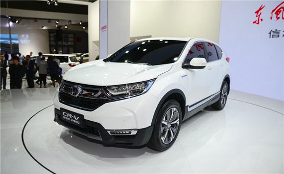 全新CR-V混动全球首发 推首款纯电动车