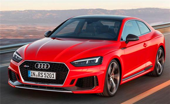 奥迪全新RS 5国内路试曝光 明年初上市