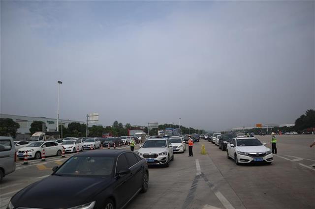 端午假期湖北高速公路通行车辆创3年同期新高