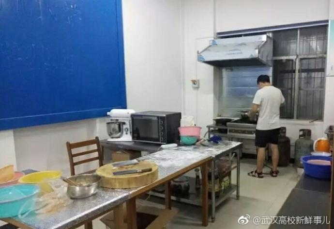 饿了自己开小灶!武汉一高校现共享厨房