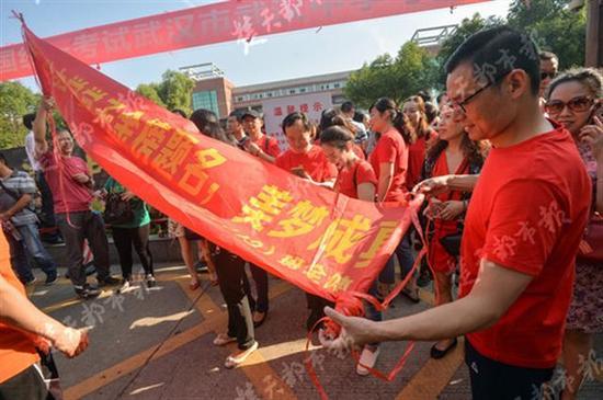 2018年高考武汉考点分布图公布