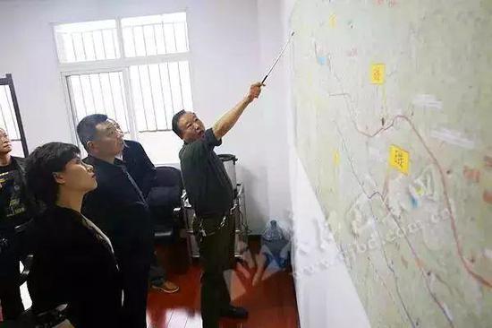 项目进度:组建工作专班,会同设计单位选定路线方案