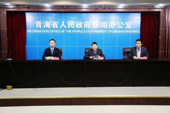"""1月19日,青海省人社厅召开《""""青海学者""""计划实施办法》新闻发布会。"""