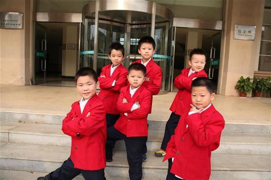 枫叶国际学校小学校服