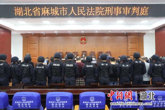 麻城警方打掉13人黑社会组织 头