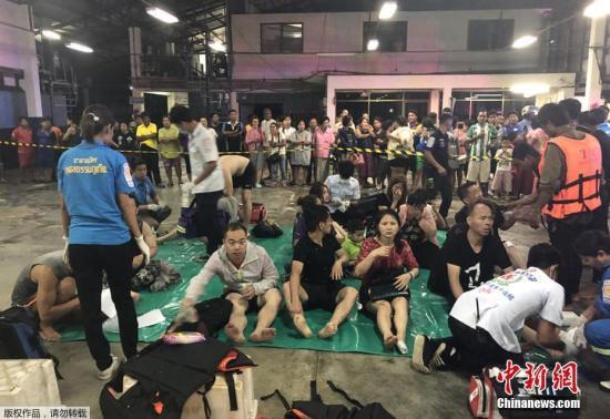 泰国普吉岛沉船事故遇难人数上升至17人