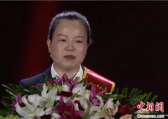 桂小妹 武汉电视台直播截图