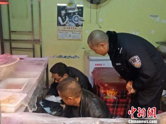餐馆在菜中掺入罂粟粉被警方查处。远安公安 供图