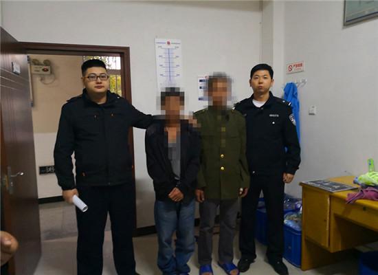 嫌疑人自首 通讯员 姜兰 摄
