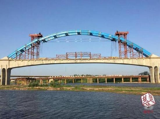 原标题:武汉至十堰高铁建设加速,明年底正式开通营运