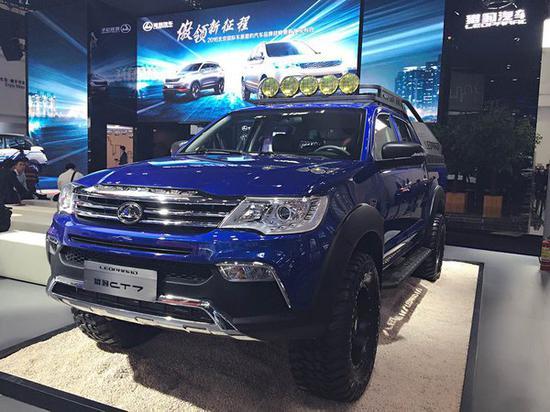 中国皮卡市场爆发前夜,猎豹CT7强势来袭-图1