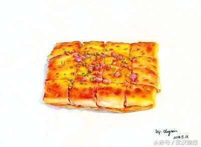 豆腐制作手绘图