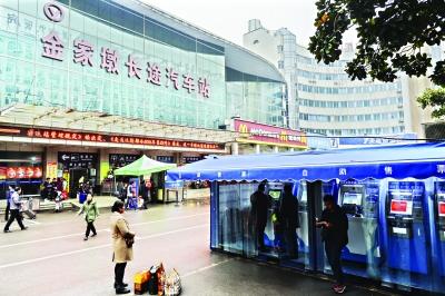 建成23年后,金家墩客运站将于本月底关闭 记者胡冬冬 摄