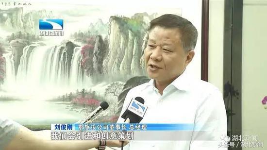 鄂旅投公司董事长 总经理 刘俊刚