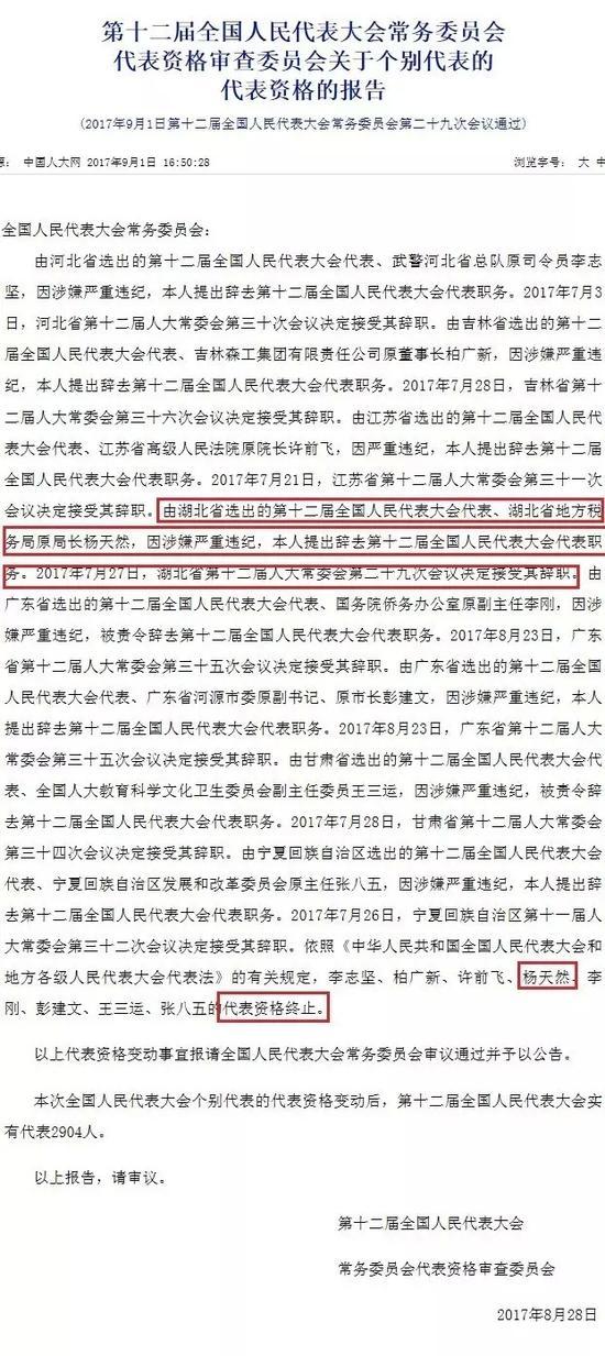 (中国人大网截图)