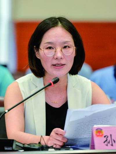 孙美华 市政协委员、市民革秘书长