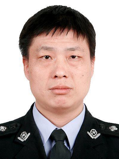 民警吴军同志。  警方供图