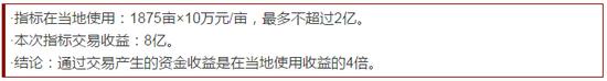 对竞买方而言,节约了用地成本。以武汉东湖新技术开发区管委会为例:
