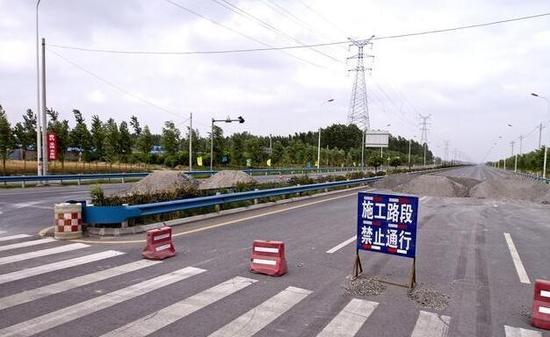 平安铺立交匝道封闭后绕行线路