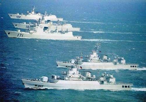 """""""咸宁舰""""已加入海军战斗序列 隶属南海舰队"""