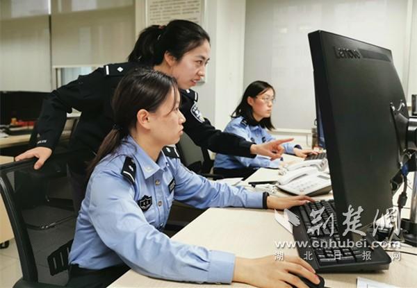反电信网络诈骗中心民警拦截全部被骗款(通讯员供图)