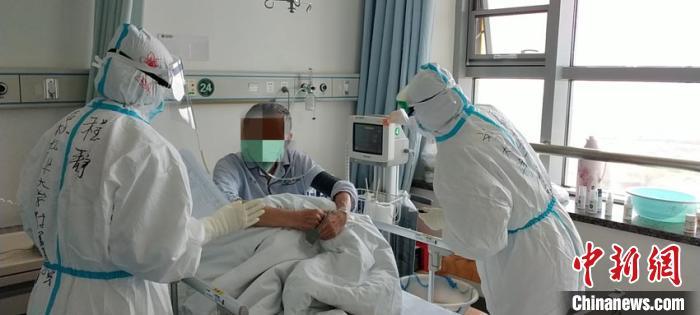 程静在武汉的最后一个班。吉林北华大学附属医院供图