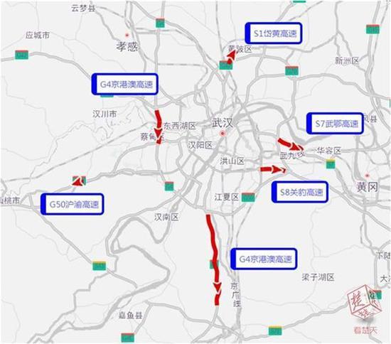 图4 6月16日高速易拥堵缓行路段