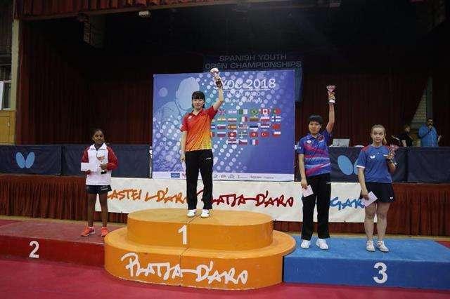 代表中国出战国际乒联大赛 武汉小将左玥斩获桂冠
