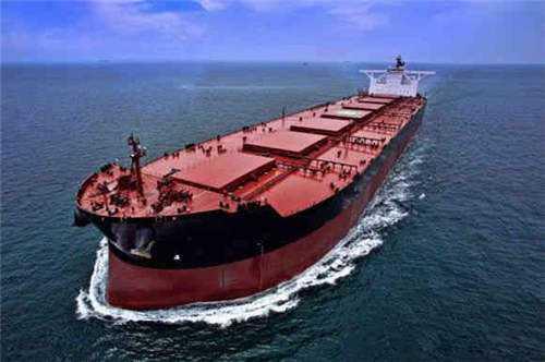 武船造全球最大矿砂船 相当于6666节火车车皮运力