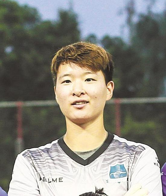 朱钰 女子足球