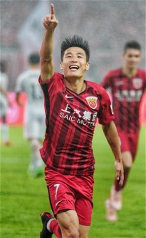 上海上港球员武磊