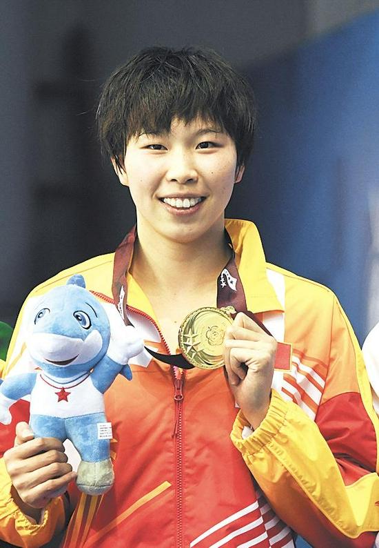 陈洁 游泳女子100米仰泳、女子4×100米混合泳接力