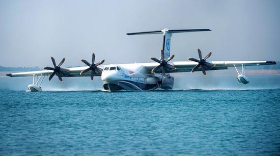 揭国产大型水陆两栖飞机AG600荆门水上首飞三大看点