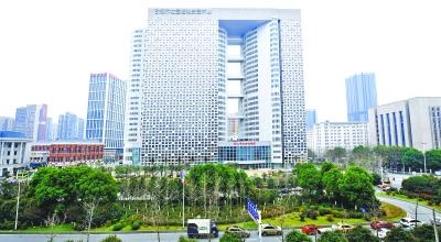 资料图:武汉市社会福利院大楼