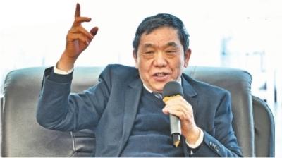 九州通董事长刘宝林记者肖僖 摄