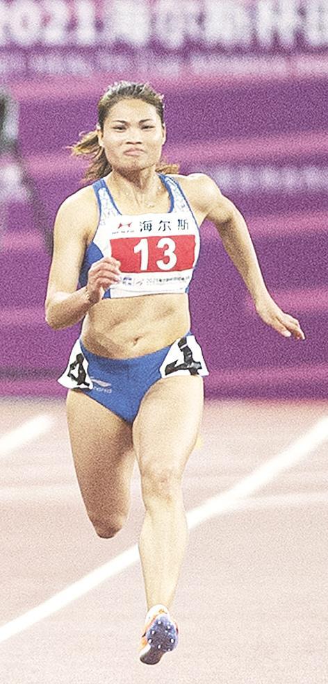 李贺 田径女子 4×100米接力
