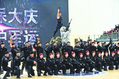 涉外警务服务队训练