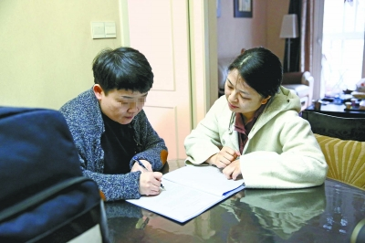 和家属签署知情同意书