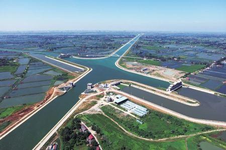 南水北调中线一期工程首次向北方实施生态补水