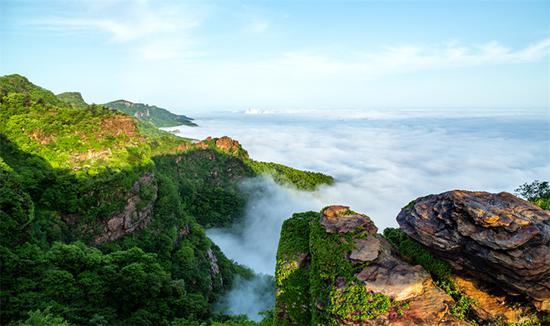 海上云台山景区资料图