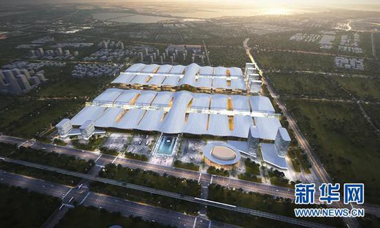 武汉绿地天河国际会展城参考方案图