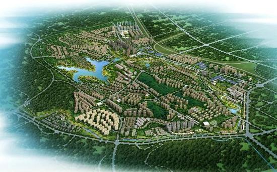 1、长宁新城是荆门中心城区城市功能的空间拓展区,与老城区协调发展。