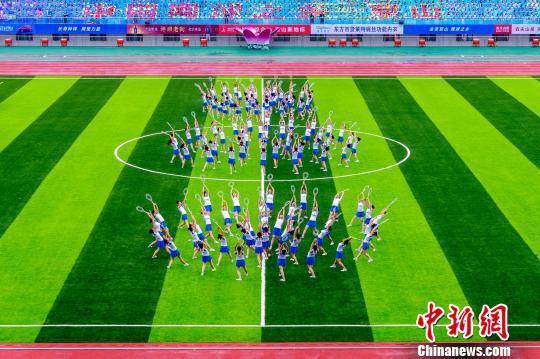 图为,中国(京山)网球节资料图 丁欣 摄